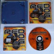 Videojuegos y Consolas: JUEGO SEGA DREAMCAST RED DOG SUPERIOR FIRE POWERCON CAJA Y MANUAL PAL LEER R7914. Lote 132972286