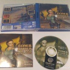 Videojuegos y Consolas: TOMB RAIDER THE LAST REVELATION SEGA DREAMCAST , PAL-ESPAÑA MUY BUEN ESTADO. Lote 133371342