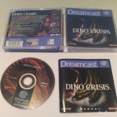 Videojuegos y Consolas: DINO CRISIS SEGA DREAMCAST PAL-ESPAÑA MUY BUEN ESTADO. Lote 133373106