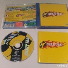 Videojuegos y Consolas: CRAZY TAXI SEGA DREAMCAST PAL-ESPAÑA PAL-EUROPA MUY BUEN ESTADO. Lote 133373242