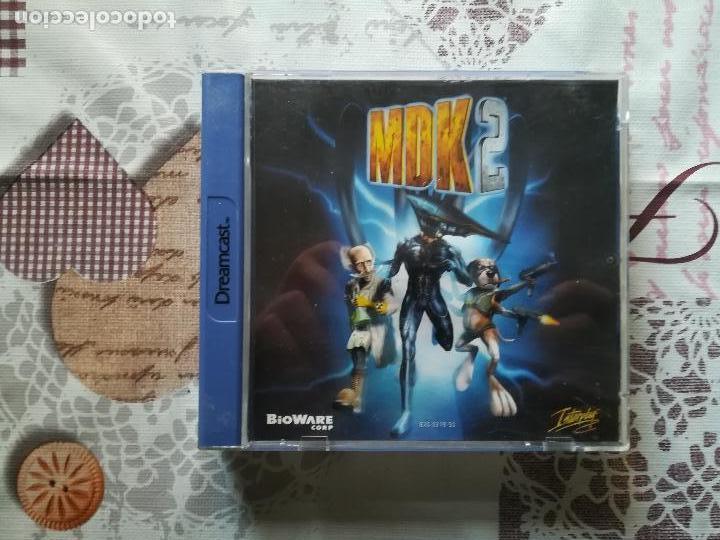 MDK 2 DREAMCAST (Juguetes - Videojuegos y Consolas - Sega - DreamCast)