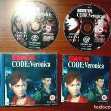 Videojuegos y Consolas: JUEGO CONSOLA SEGA DREAMCAST RESIDENT EVIL CODE VERONICA. Lote 142650094