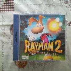 Videojuegos y Consolas: RAYMAN 2 DREAMCAST. Lote 142651834
