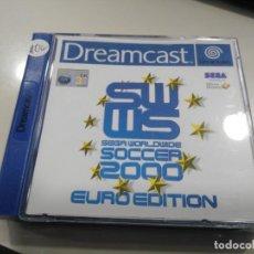 Videojuegos y Consolas: ANTIGUO JUEGO DE CONSOLA SEGA DREAMCAST SWWS SOCCER 2000. Lote 147306486