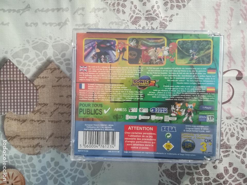 Videojuegos y Consolas: SONIC ADVENTURE 2 DREAMCAST - Foto 3 - 150236022