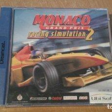 Videojuegos y Consolas: MONACO GRAND PRIX RACING SIMULATION 2 DREAMCAST PAL ESPAÑA. Lote 29070389
