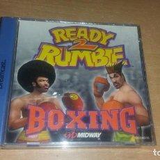 Videojuegos y Consolas: READY 2 RUMBLE BOXING DREAMCAST PAL ESPAÑA COMPLETO. Lote 154317786
