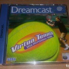 Videojuegos y Consolas: VIRTUA TENNIS 1 Y 2 DREAMCAST PAL ESPAÑA. Lote 154318174