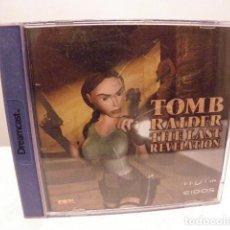Videojuegos y Consolas: TOMB RAIDER THE LAST REVELATION SEGA DREAMCAST , PAL-ESPAÑA MUY BUEN ESTADO. Lote 155473814