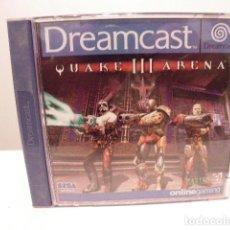 Videojuegos y Consolas: SEGA DREAMCAST - QUAKE III 3 ARENA COMO NUEVO. Lote 155475682