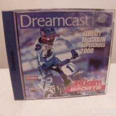 Videojuegos y Consolas: JEREMY MCGRATH SUPERCROSS DREAMCARST. Lote 155476878