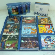Videojuegos y Consolas: LOTE DE JUEGOS DE DEAMCAST. Lote 155486318