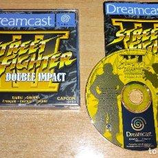 Videojuegos y Consolas: JUEGO SEGA DREAMCAST - STREET FIGHTER 3: DOUBLE IMPACT - COMPLETO - PAL ESPAÑA. Lote 158935506