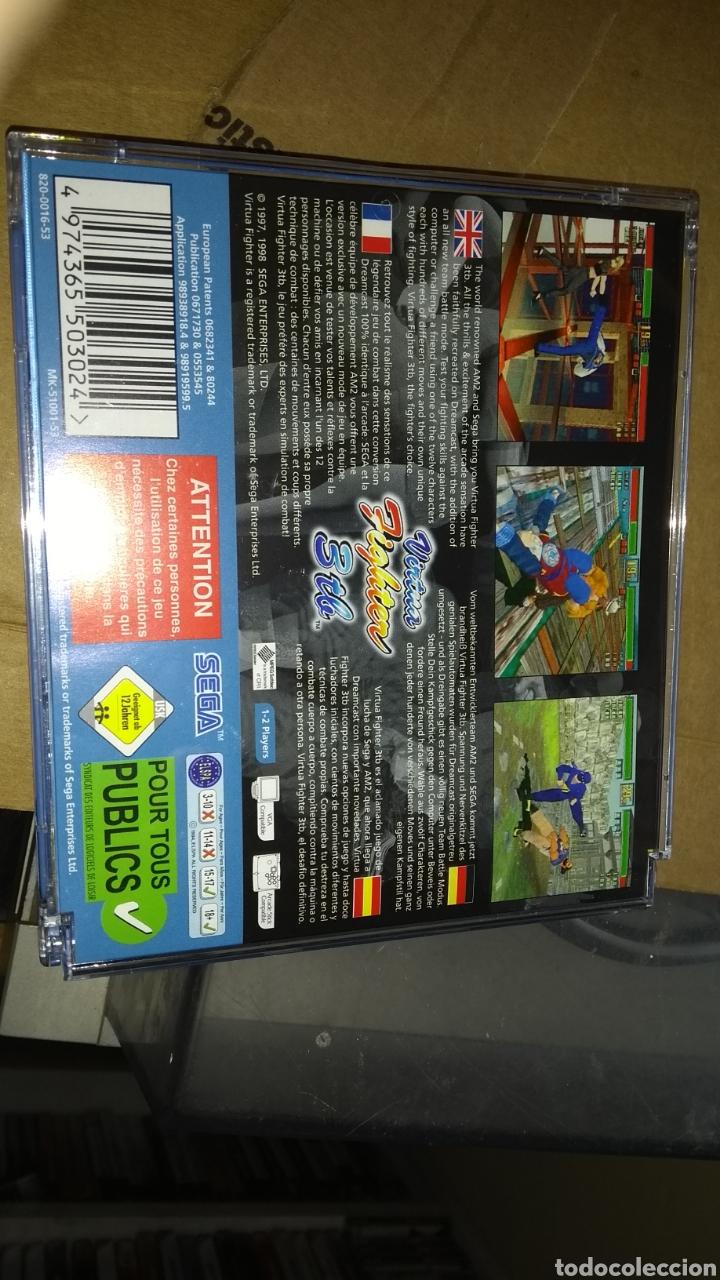 Videojuegos y Consolas: Vitua fighter 3 sega dreamcast solo usado una vez - Foto 2 - 160696158
