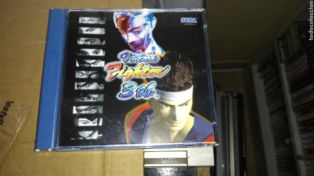 VITUA FIGHTER 3 SEGA DREAMCAST SOLO USADO UNA VEZ (Juguetes - Videojuegos y Consolas - Sega - DreamCast)