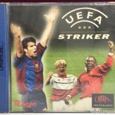 Videojuegos y Consolas: JUEGO DREAMCAST UEFA STRIKER. Lote 163114770