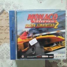 Videojuegos y Consolas: MONACO GRAND PRIX RACING SIMULATION 2 DREAMCAST. Lote 163489330