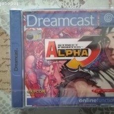 Videojuegos y Consolas: STREET FIGHTER ALPHA 3 NUEVO PRECINTADO DREAMCAST . Lote 164848298