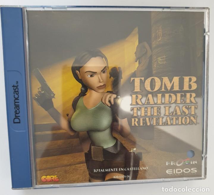 TOMB RAIDER. THE LAST REVELATION. DREAMCAST (Juguetes - Videojuegos y Consolas - Sega - DreamCast)