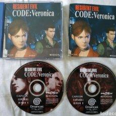 Videojuegos y Consolas: RESIDENT EVIL CODE: VERONICA X SEGA DREAMCAST. Lote 189556060