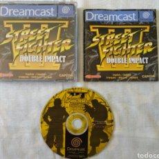 Videojuegos y Consolas: STREET FIGHTER DOUBLE IMPACT SEGA DREAMCAST. Lote 166219416