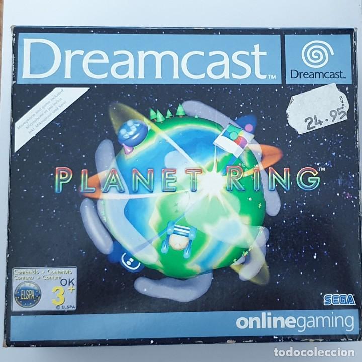 SET PLANET RING CON MICRÓFONO. DREAMCAST (Juguetes - Videojuegos y Consolas - Sega - DreamCast)