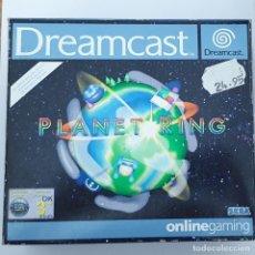 Videojuegos y Consolas: SET PLANET RING CON MICRÓFONO. DREAMCAST. Lote 166625266