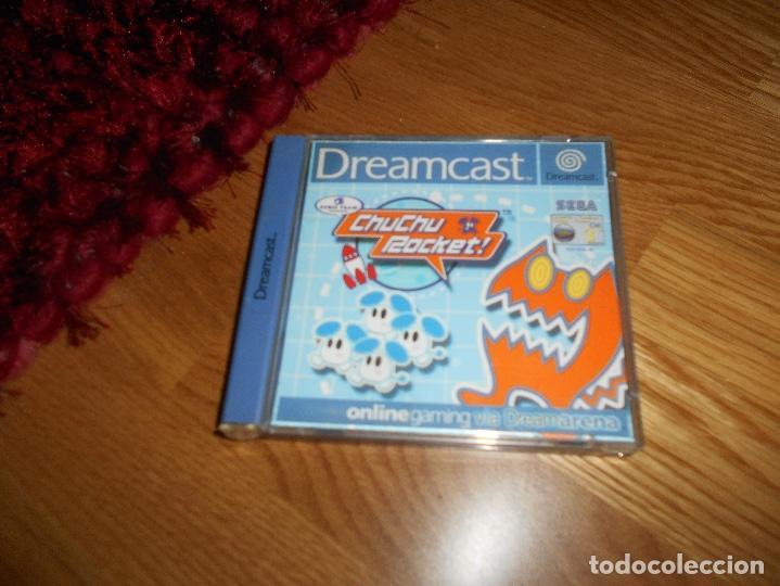 JUEGO SEGA DREAMCAST CHUCHU ROCKET! COMPLETO CON CAJA Y MANUAL (Juguetes - Videojuegos y Consolas - Sega - DreamCast)