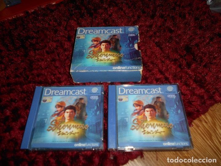 SEGA DREAMCAST SHENMUE COMPLETO (Juguetes - Videojuegos y Consolas - Sega - DreamCast)