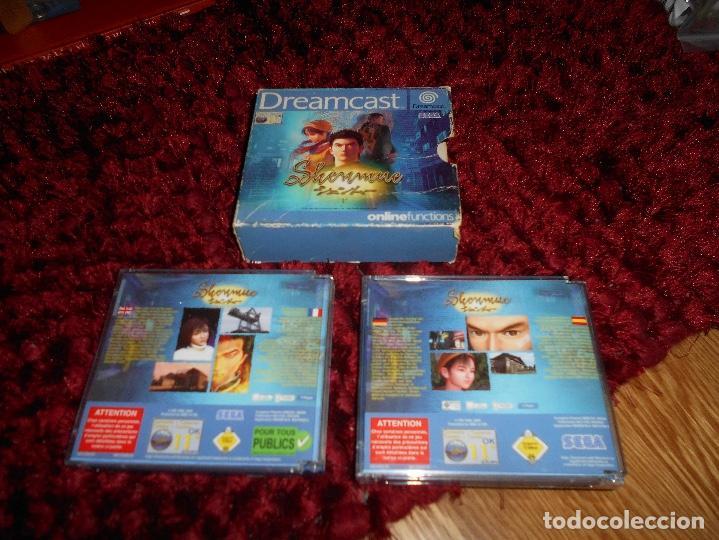 Videojuegos y Consolas: SEGA DREAMCAST SHENMUE COMPLETO - Foto 2 - 168628692