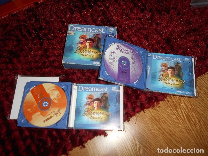 Videojuegos y Consolas: SEGA DREAMCAST SHENMUE COMPLETO - Foto 3 - 168628692
