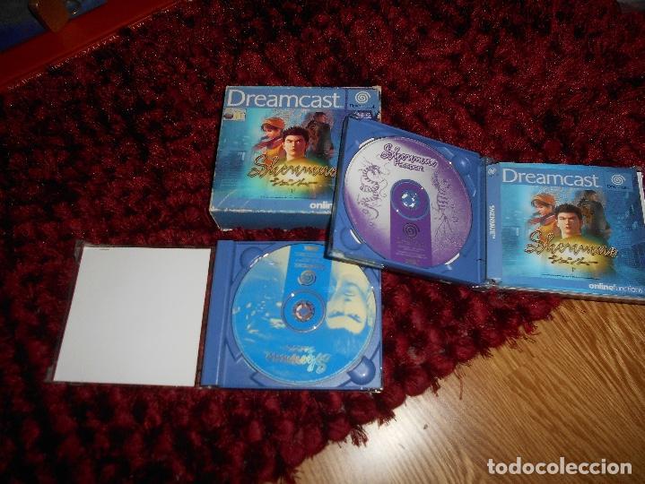 Videojuegos y Consolas: SEGA DREAMCAST SHENMUE COMPLETO - Foto 4 - 168628692