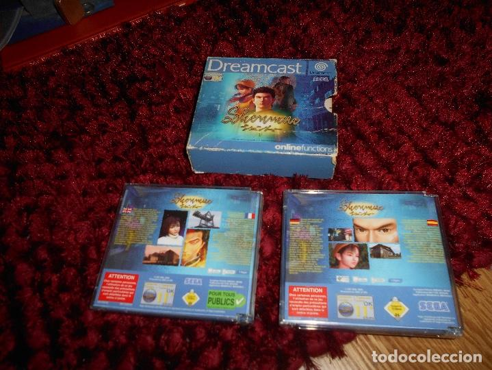 Videojuegos y Consolas: SEGA DREAMCAST SHENMUE COMPLETO - Foto 5 - 168628692
