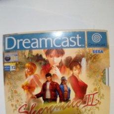 Videojuegos y Consolas: JUEGO DREAMCAST-SHENMUE II. Lote 172697419