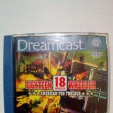 Videojuegos y Consolas: JUEGO DREAMCAST-18 WHEELER. Lote 172700553