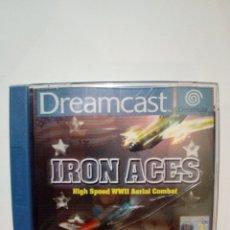 Videojuegos y Consolas: JUEGO DREAMCAST-IRON ACES. Lote 172701840