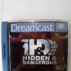 Videojuegos y Consolas: JUEGO DREAMCAST-HIDDEN & DANGEROUS. Lote 172730008