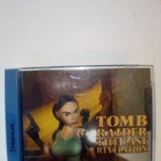 Videojuegos y Consolas: JUEGO DREAMCAST-TOMB RAIDER: THE LAST REVELATION. Lote 172730409
