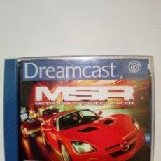 Videojuegos y Consolas: JUEGO DREAMCAST-METROPOLIS STREET RACER. Lote 172730432