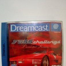 Videojuegos y Consolas: JUEGO DREAMCAST-F355 CHALLENGE PASSIONE ROSSA. Lote 172730450
