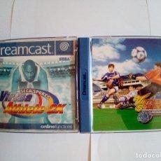 Videojuegos y Consolas: LOTE DE 2JUEGO DREAMCAST-VIRTUA ATHLETE 2K-VIRTUA STRIKER 2 VER.2000.1. Lote 172765274