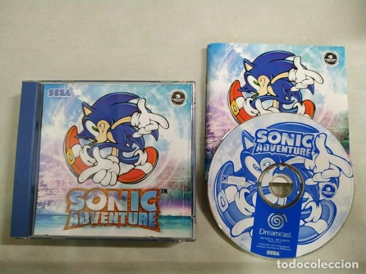 Sonic Adventure Sega Dreamcast Pal Esp Buy Video Games And Consoles Dreamcast At Todocoleccion 173959009