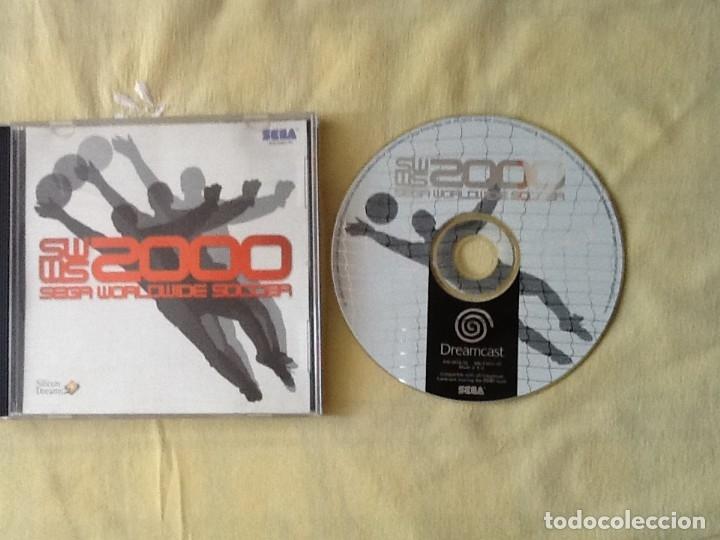 VIDEO JUEGO. SEGA DREAMCAST WORLDWIDE SOCCER 2000. (Juguetes - Videojuegos y Consolas - Sega - DreamCast)