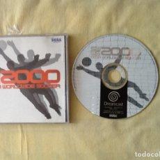 Videojuegos y Consolas: VIDEO JUEGO. SEGA DREAMCAST WORLDWIDE SOCCER 2000. . Lote 175146752