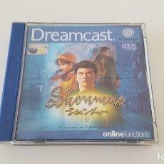Videojuegos y Consolas: SHENMUE 1 SEGA DREAMCAST. Lote 176254113