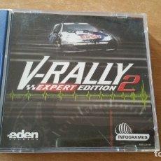 Videojuegos y Consolas: V-RALLY 2 EXPERT EDITION DREAMCAST PAL ESPAÑA COMPLETO. Lote 177495164