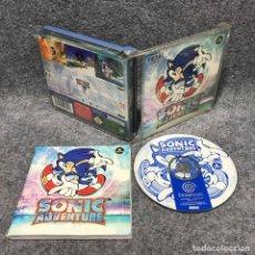 Videojuegos y Consolas: SONIC ADVENTURE SEGA DREAMCAST. Lote 180046518