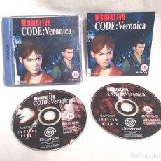Videojuegos y Consolas: RESIDENT EVIL CODE VERONICA SEGA DREAMCAST. Lote 183079420