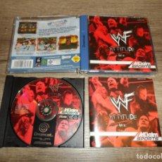 Videojuegos y Consolas: SEGA DREAMCAST WWF ATTITUDE PAL COMPLETO. Lote 185974818