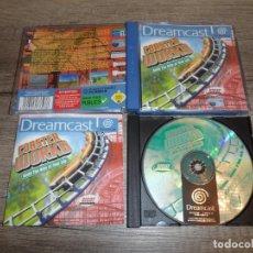 Videojuegos y Consolas: SEGA DREAMCAST COASTER WORKS PAL ESP COMPLETO. Lote 190450197